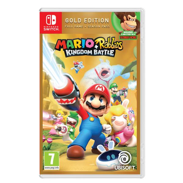 Mario + Rabbids Kingdom Battle (Gold Edition) - Nintendo Switch