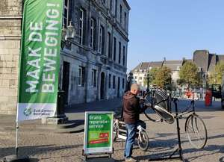 Gratis fietsreparatie op 15, 22 en 29 mei in zuid-Limburg