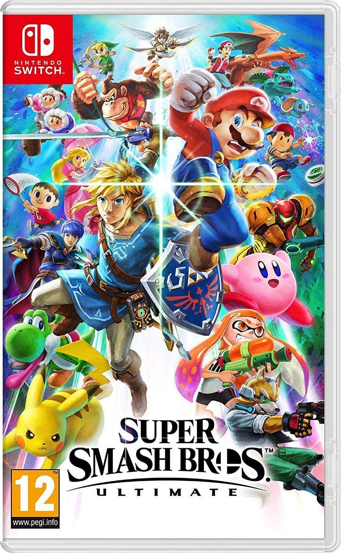 Super Smash Bros. Ultimate (Nintendo Switch) @Amazon