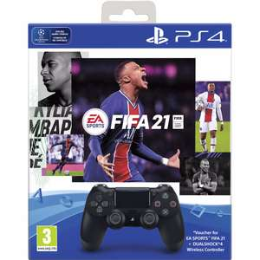 Sony DualShock 4 V2 + FIFA 21 + PS plus 14 dagen @ BCC