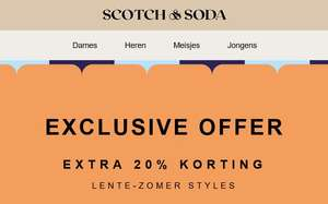 SALE + 20% EXTRA @ Scotch & Soda