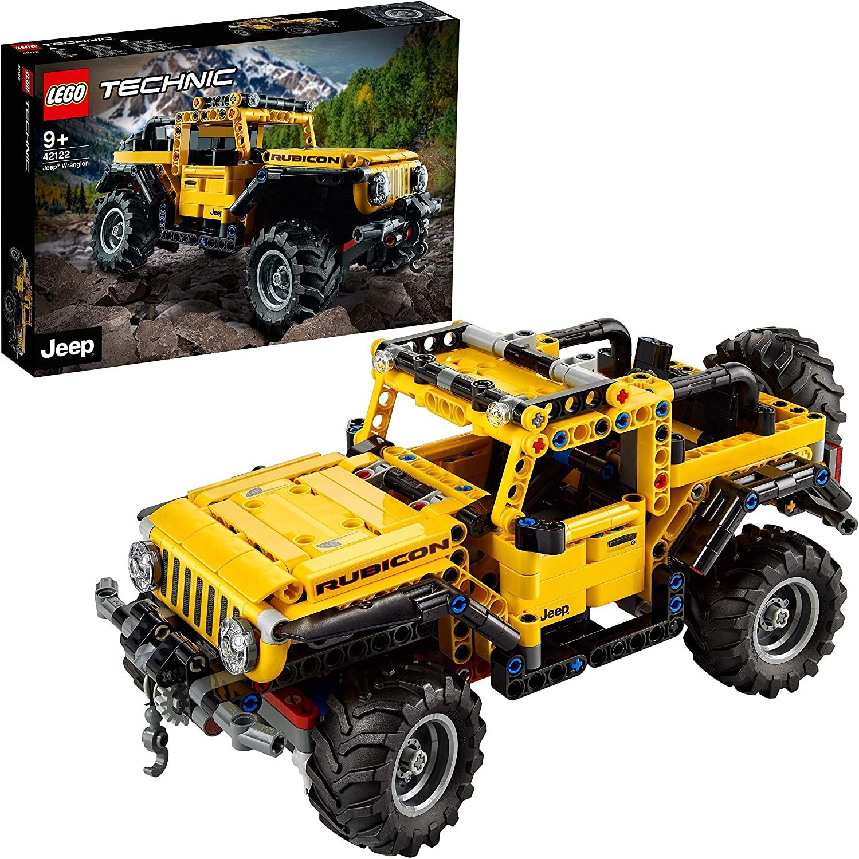 LEGO 42122 Technic Jeep Wrangler 4x4
