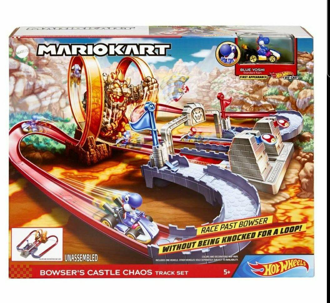 Hot wheels mariokart bowsers castle