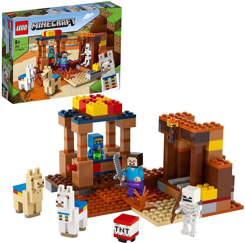 Lego Minecraft De handelspost (21167)