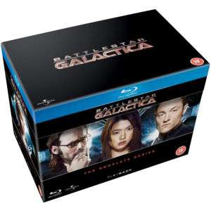 Battlestar Galactica - Complete Series (Blu-Ray) voor € 33,44 @ Zavvi