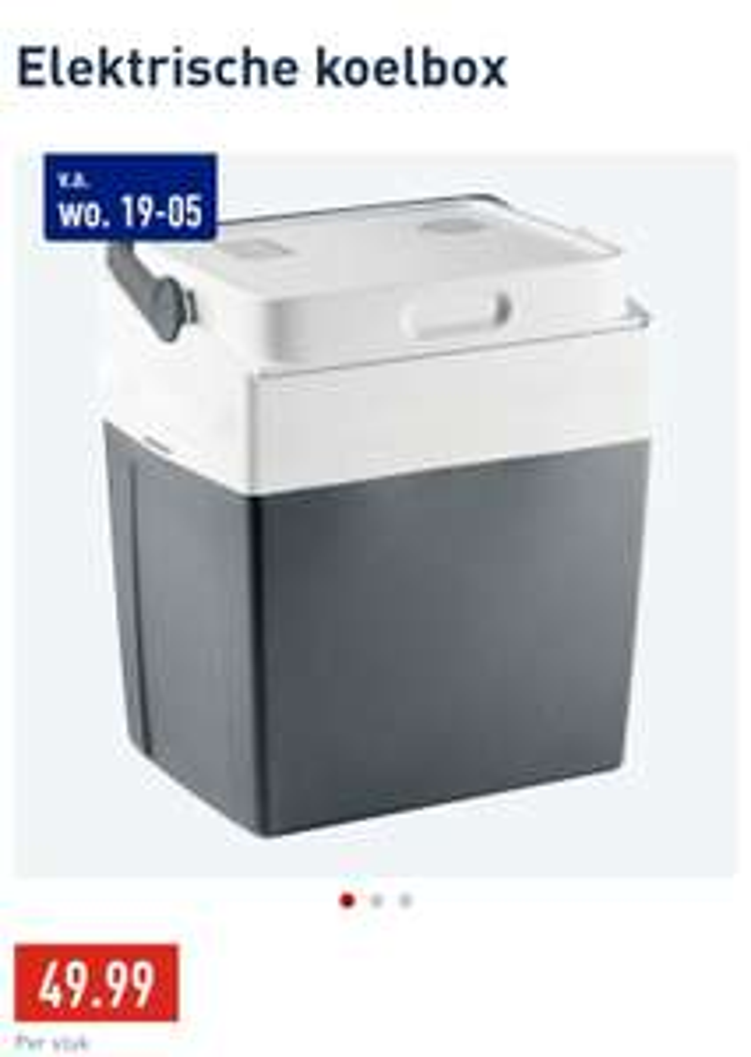 ALDI elektrische koelbox