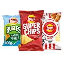 Lay's Superchips, Restaurant flavours of Bugles
