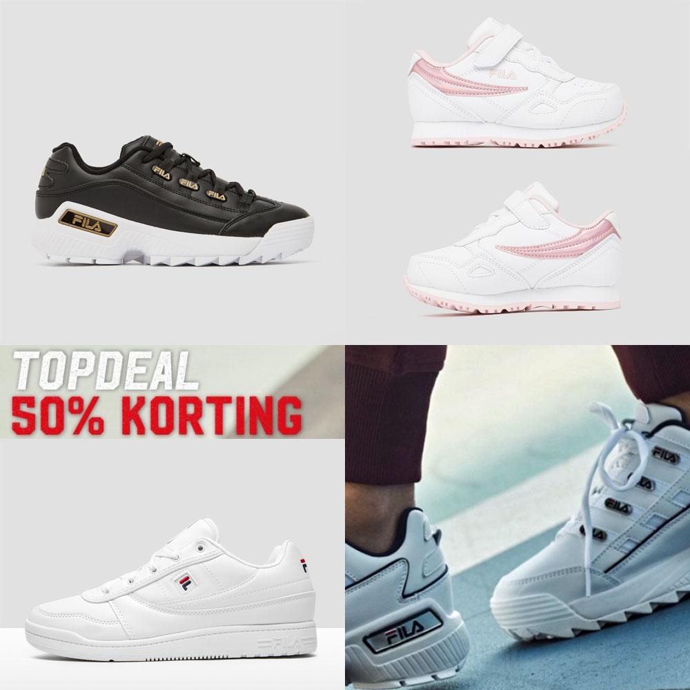 FILA sneakers -50% · nu vanaf €17,50