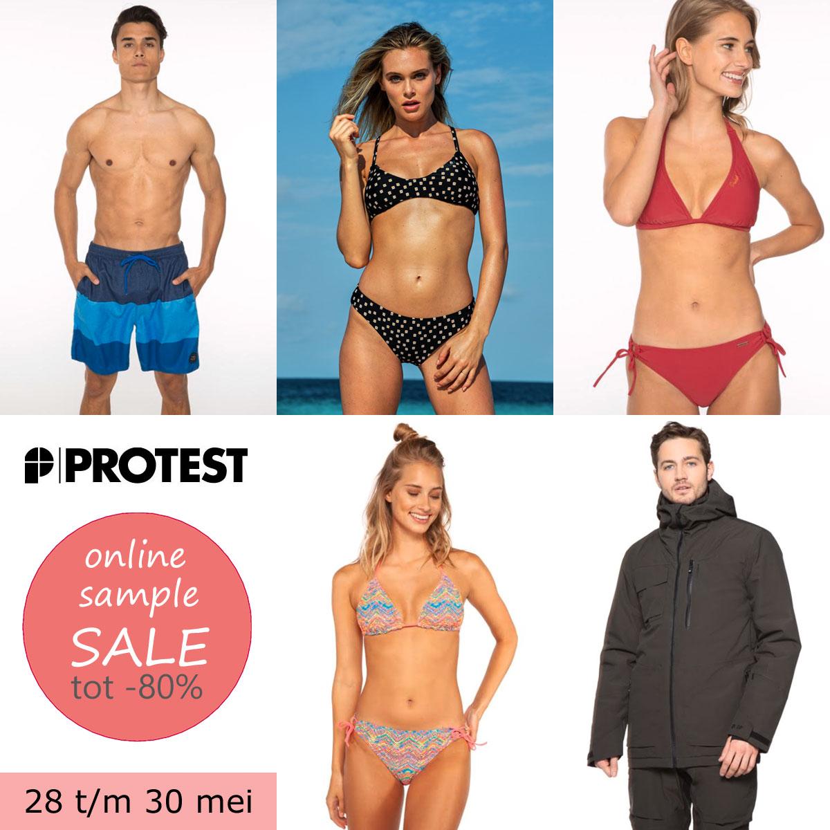 PROTEST sample sale: tot 80% korting [va 28 mei · nu inschrijven = straks shoppen]