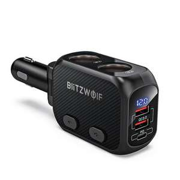 BlitzWolf BW-CLA1 150W multistekker (12V & QC3.0 & PD) @BangGood CN
