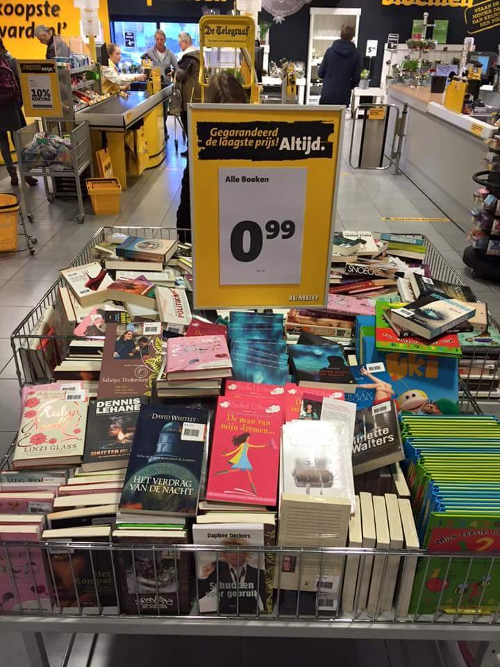 Alle boeken voor €0,99 per stuk @ Jumbo (van Loonstraat Leeuwarden)