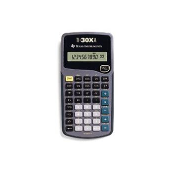 Texas Instruments 30xa Rekenmachine voor €3,99 @ Dixons