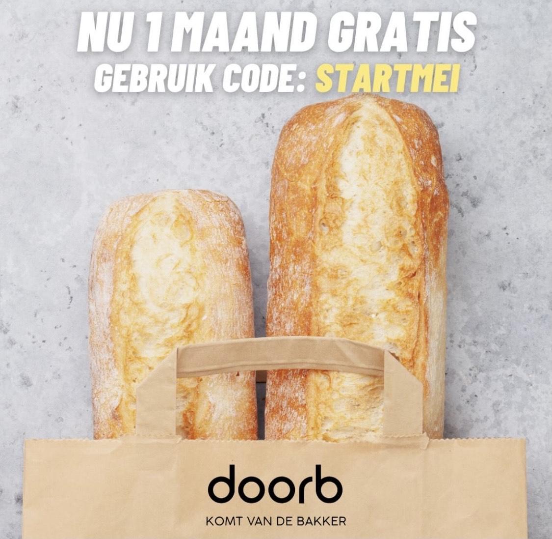 Gratis dagelijkse bezorging van vers brood van jouw lokale bakker aan huis!