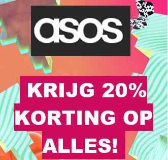 ACTIE: 20% korting [min €30] - ook op SALE / OUTLET