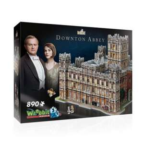 3D puzzel van de abdij uit de film Downton Abbey, 890 stukjes