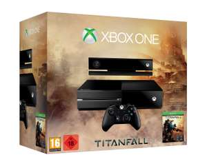 Xbox One Console + Kinect + Titanfall voor € 411,96 @ Amazon.fr