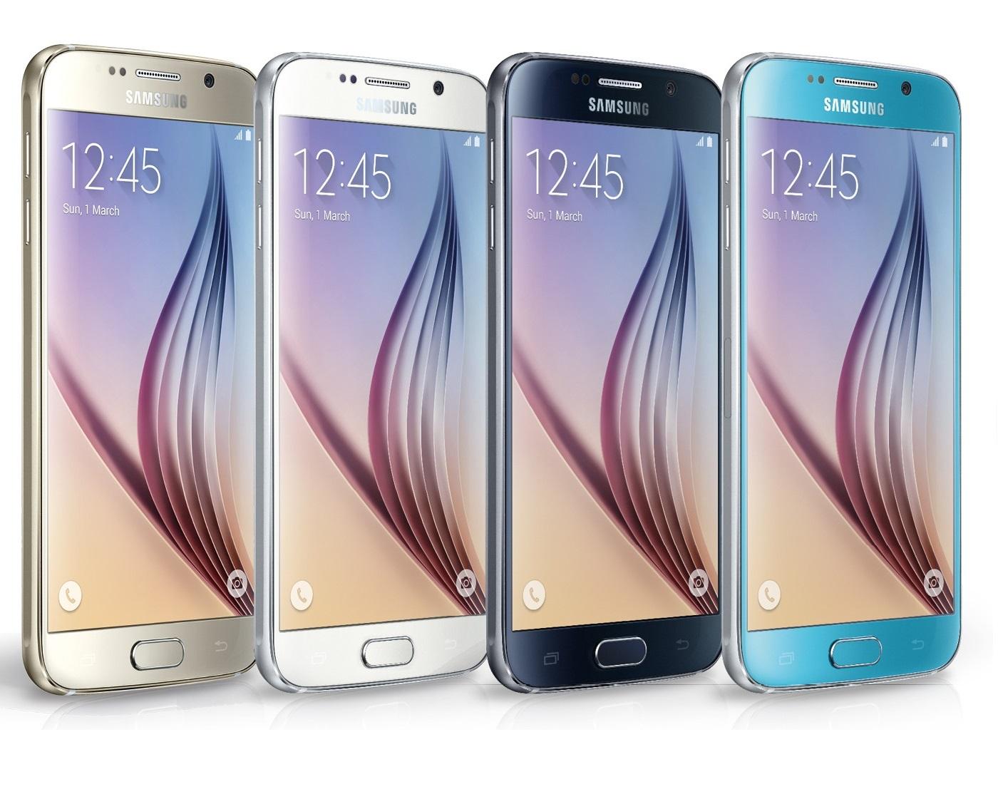 Samsung Galaxy S6 SM-G920F 32GB voor €370,71 @ Ebay