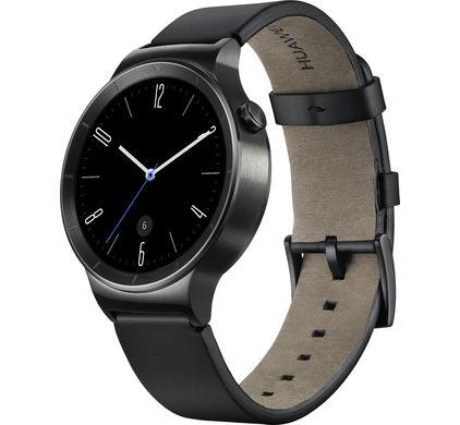 Huawei Watch Active zwart (leren band) voor €299 @ Coolblue