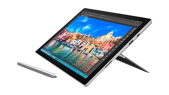 21% korting op Microsoft Surface Pro 4 @ Microsoft Store België
