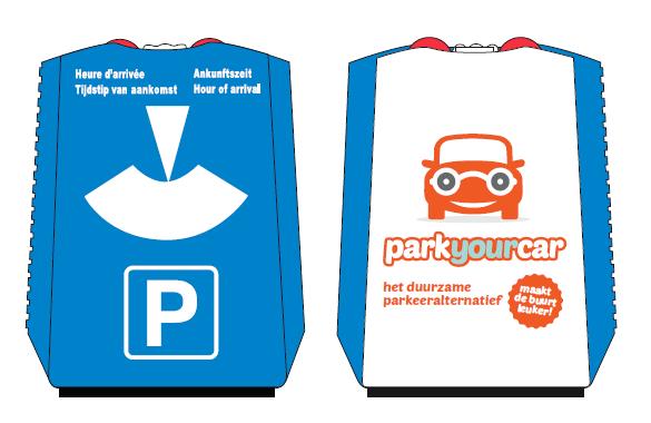 gratis parkeerschijf/ruitenkrabber