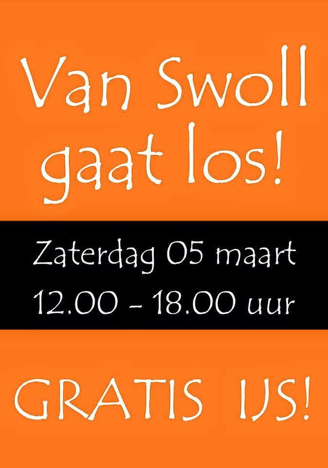 Zaterdag gratis ijs @ Van Swoll Apeldoorn