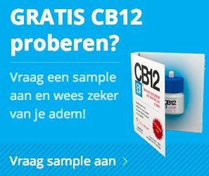 Gratis sample CB12 - Product tegen slechte adem