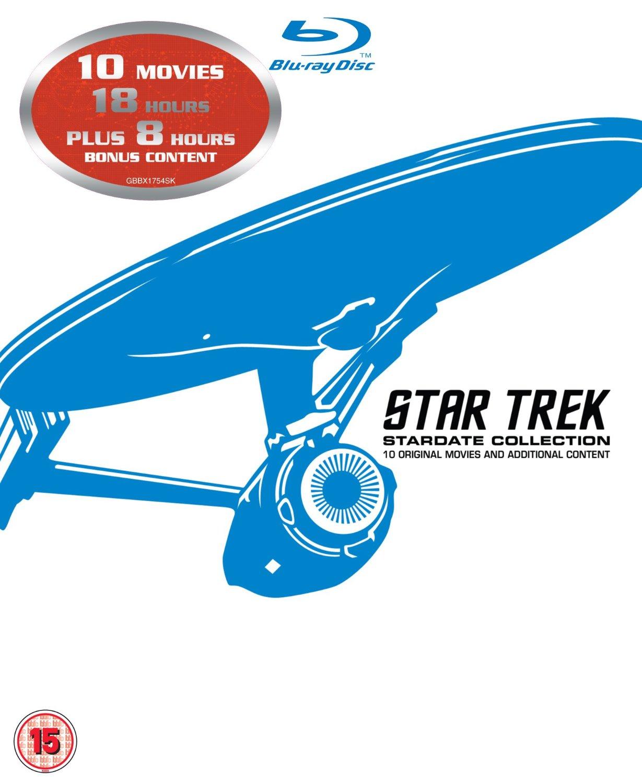 Star Trek: Stardate Collection (1-10) (Blu-ray) voor €35,25 @ Amazon.co.uk