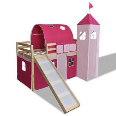 Hoogslaper Princes met ladder & glijbaan voor €172,99  @ VidaXL