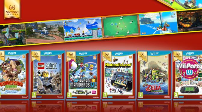 Vanaf 15 april nieuwe Wii U titels voor Nintendo Selects (€29,99)