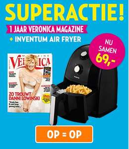 1 jaar Veronica Magazine + Inventum Air Fryer voor € 69 @ Veronica