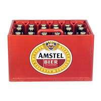 Krat Amstel voor €9,69 / 25% korting op alles van Amstel @ AH