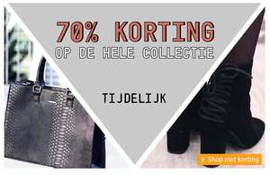 70% korting op totale collectie @ Invito