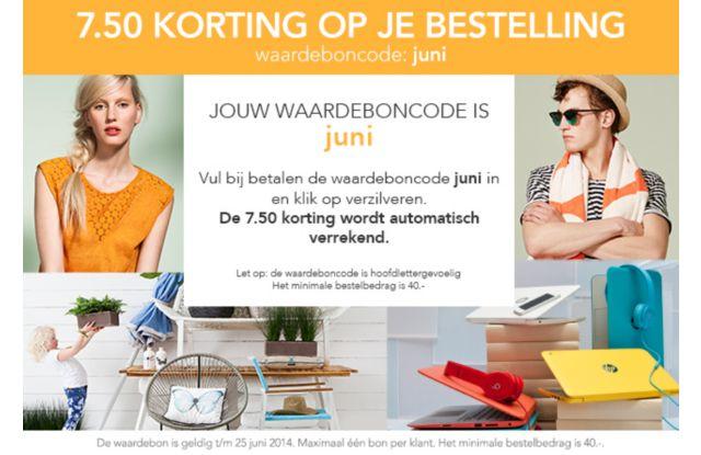 €7,50 korting op alles bij Wehkamp door kortingscode