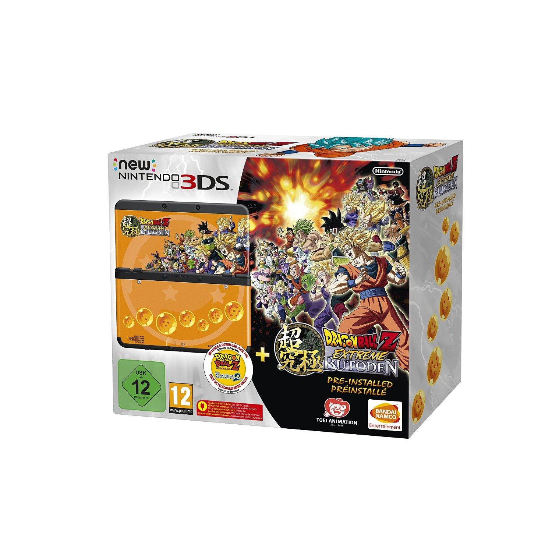 New Nintendo 3DS + Dragon Ball Z: Extreme Butoden bundel voor €152,50 @ Amazon.de