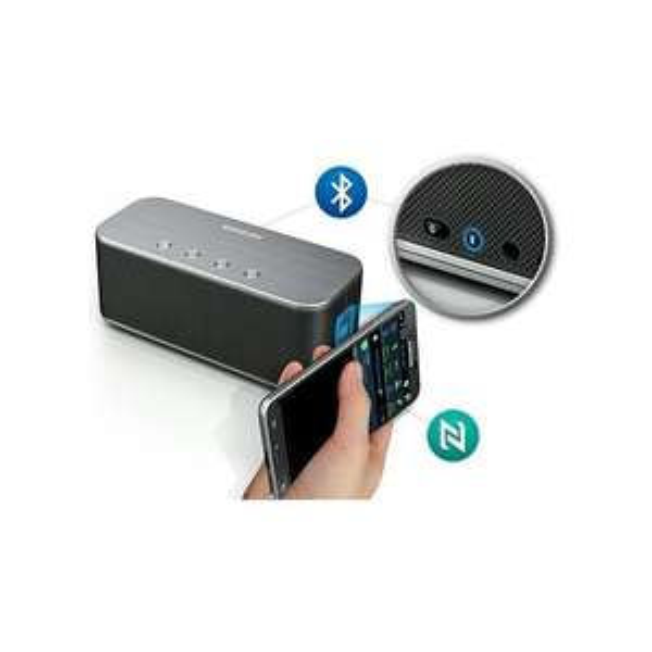 Samsung Bluetooth + NFC Speaker SB330 (Grijs) voor € 79,63 @ Max ICT