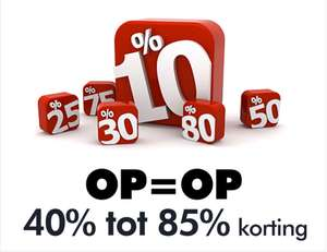 Autostyle sale 40% tot 85% korting