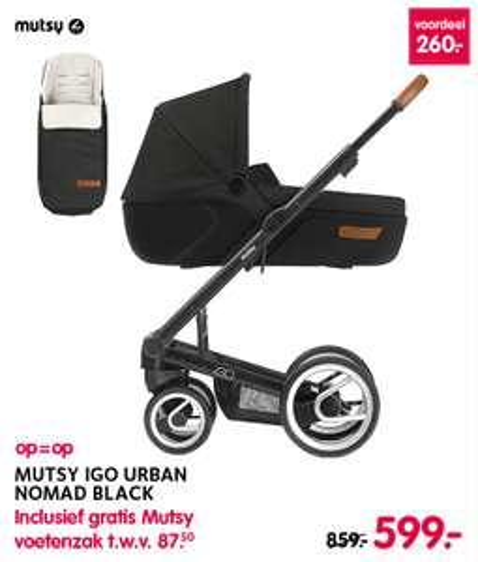 Mutsy Kinderwagens € 379/€599,-