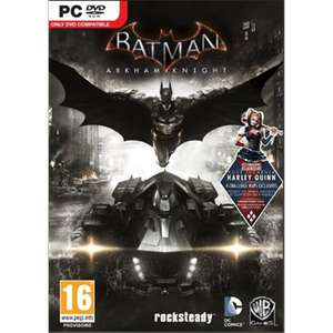 Batman Arkham Knight (PC) voor €10 @ Dixons