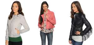 Leren jacks 80% korting + 10% extra met code @ Dress for Less