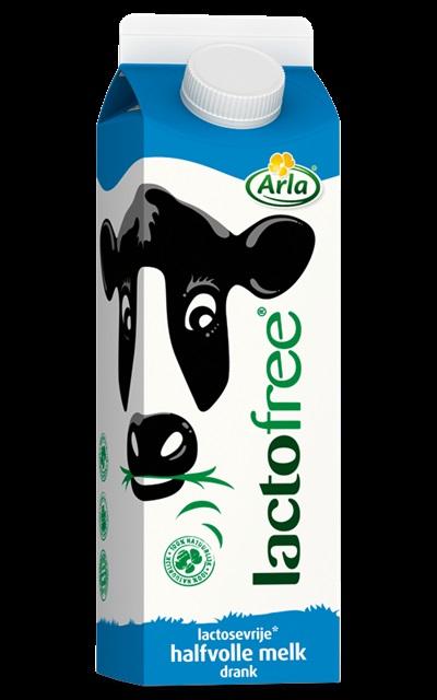 Arla lactofree halfvolle melk (geld terug actie) @ Jumbo