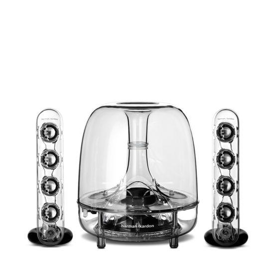 Harman Kardon SoundSticks III - 2.1 speakerset voor 50,- @Harmankardon en @ING