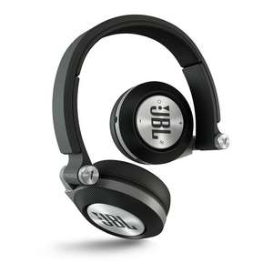 JBL Synchros 40BT headphone met ing rentepunten.