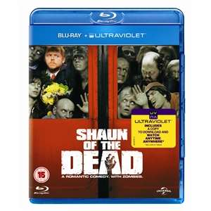 Shaun Of The Dead (Blu-ray) voor €6,05 @ Play.com