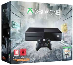 Xbox One 1 TB Console + The Division voor €299 @ Microsoft Store