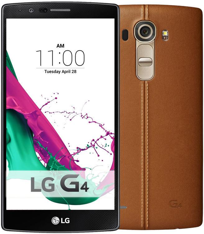 LG G4 (leer, bruin) voor €299 @ Ritel