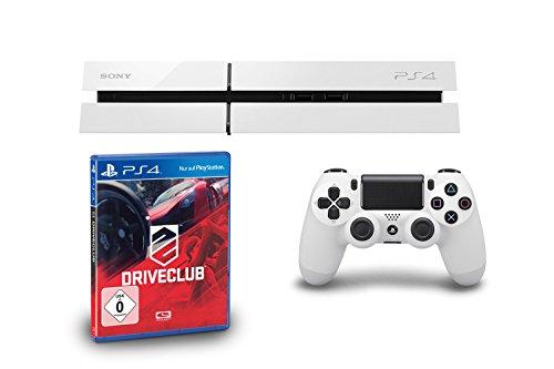 Witte Playstation 4 + Driveclub voor €405,70 @ Amazon.de