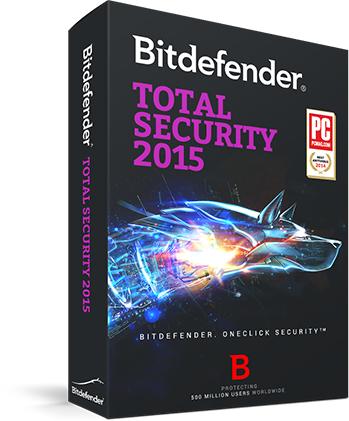 6 maanden gratis Bitdefender Total Security 2015, Antivirus voor Mac en Mobile Security