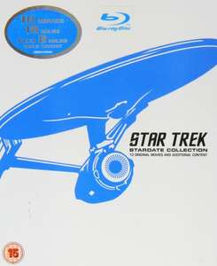 Star Trek: Stardate Collection 1-10 (Blu-ray) voor €51,69 @ Amazon.co.uk