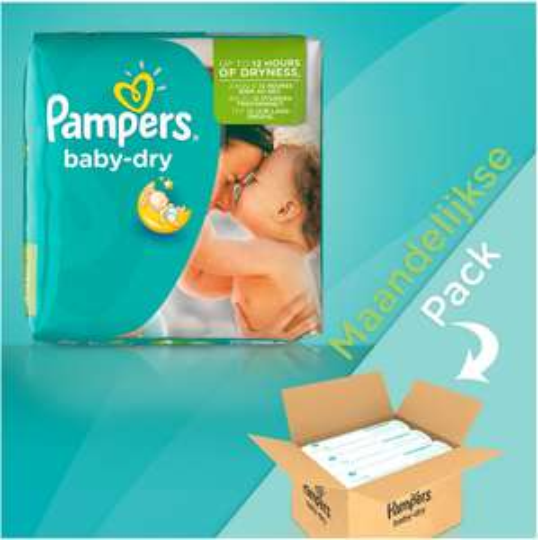 40% korting op Pampers maandboxen - Baby Dry / New Baby / Active Fit @ Bol