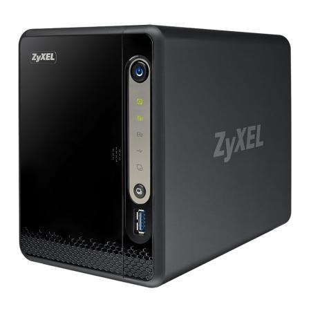 ZyXEL NSA-325 V2 (NAS Behuizing voor 2 SATA Harddisks)